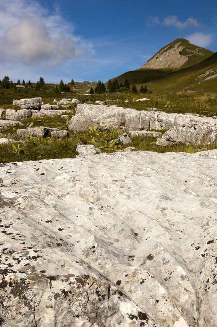 Estriado de las rocas en Pian di Nana - foto de stock