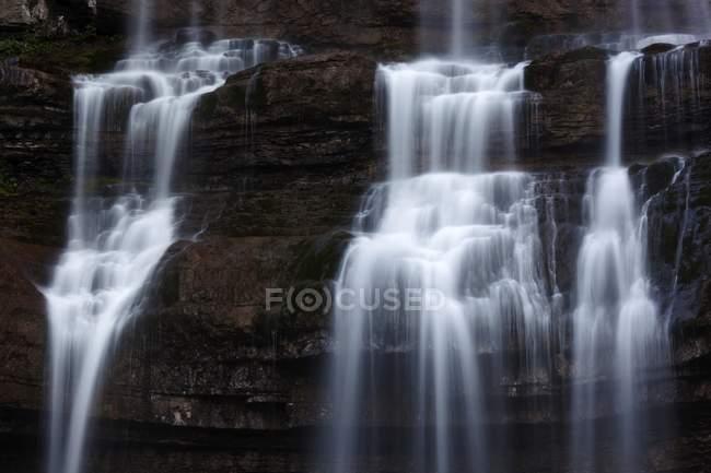 Spettacolari cascate di Vallesinella — Foto stock