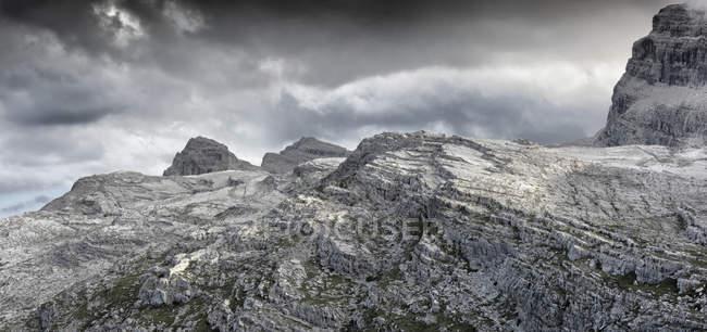 Rocky peaks of Dolomites of Brenta — Stock Photo