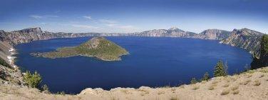 Вид на Озеро Крейтер — стокове фото