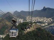 Ascensore della Gondola, Rio De Janeiro — Foto stock