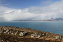 View Of Approaching Rain From Sheep's Head In West Cork; County Cork, Ireland — Stock Photo