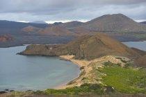 Перегляд Бартоломе острів — стокове фото
