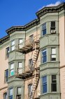 Апартаменти на вулиці Бойлстон — стокове фото