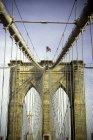 Бруклинский мост — стоковое фото
