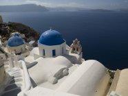 Красивая греческая архитектура — стоковое фото