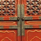 Door Detail Of The Forbidden City — Stock Photo