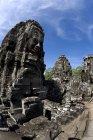 Байон храму під Синє небо — стокове фото