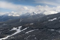 Panorama delle montagne rocciose — Foto stock