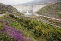 Barragem de água perto de Granada — Fotografia de Stock