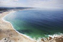 Praia com água — Fotografia de Stock