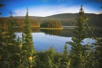 View of Whitehorse at Yukon Territory — Stock Photo