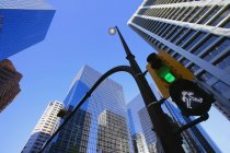 Straßenlaterne Innenstadt — Stockfoto