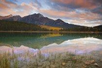 Мальовничі гірські озера — стокове фото