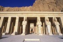 Tempio funebre di Hatshepsut — Foto stock
