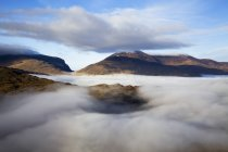 County Kerry with Fog In Valley — Stock Photo