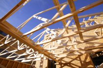Framework For Roof outdoors — Stock Photo