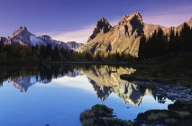 Opabin озер в його Національний парк — стокове фото