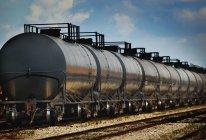 Transport de marchandises par chemin de fer — Photo de stock