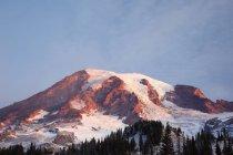 Sunrise On Mount Rainier — Stock Photo
