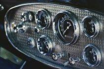Tableau de bord de voiture antique — Photo de stock
