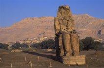 Colossi Di Memnon Vicino Luxor — Foto stock