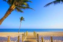 Walkway Onto Beach — Stock Photo