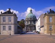 Данська-Королівський палац — стокове фото