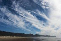 Wolken ziehen am Kap-Aussichtspunkt an der oregonischen Küste vorbei — Stockfoto