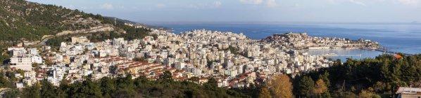 Сайт стародавнього міста Неаполь — стокове фото