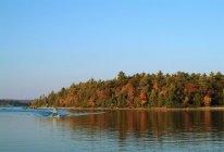 Float Plane On Lake — Stock Photo