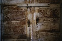 Rustic wooden Doors — Stock Photo
