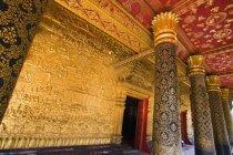 Templo de Wat Mai em Luang Prabang — Fotografia de Stock