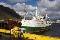 Navires de pêche en Islande — Photo de stock