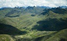 Vista aérea de la selva tropical - foto de stock