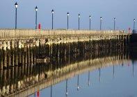 Ponte in Amble con accendini — Foto stock