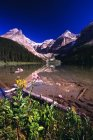 Lago di Kaufmann, Kootenay National Park — Foto stock