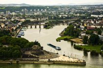 View of City Of Koblenz — Stock Photo