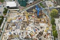 Downtown Construction in  Kuala Lumpura — Stock Photo