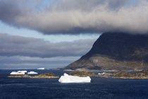 Iceberg, Nanortalik, Qoornoq — Photo de stock