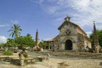 Igreja de pedra na República Dominicana — Fotografia de Stock