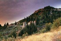 Antica città di Mystras — Foto stock