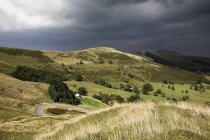 Derbyshire In Stormy Weather — Stock Photo