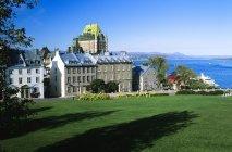 Ville historique de Québec — Photo de stock