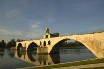 Veduta di ponte vecchio — Foto stock