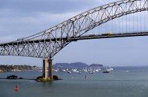 Bridge In Panama over water — Stock Photo