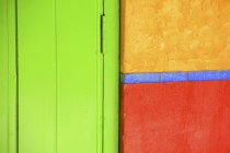 Colorful Door And Wall — Stock Photo