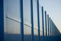 Tall Metal Fence — Stock Photo