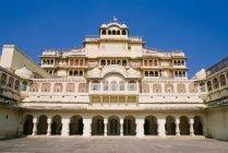 Дворец Махараджи в Джайпуре — стоковое фото