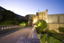 Walled City Of Dubrovnik — Stock Photo